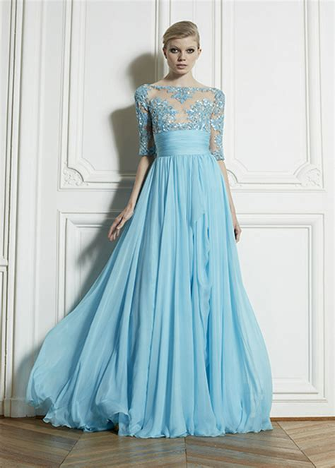 design dress with sleeves full off shoulder cape sleeves evening gowns designers