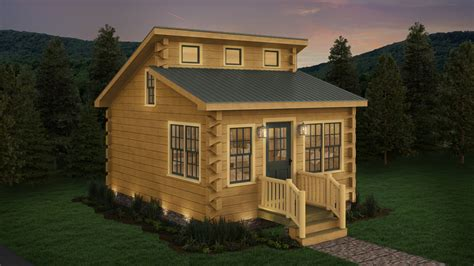 Affordable Cabin Plans buck creek affordable tiny log cabin