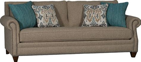 mayo upholstery mayo furniture 7240f fabric sofa baird flax mayo