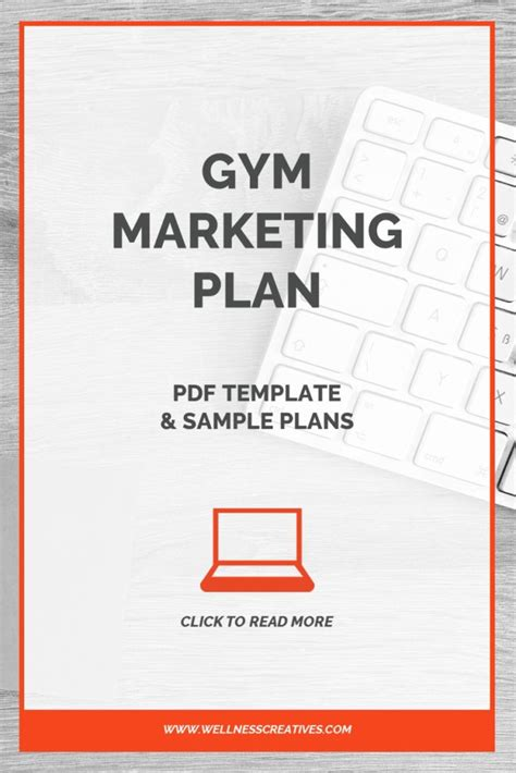 Gym Marketing Plan Pdf Template Sle Plans Fitness Center Business Plan Template