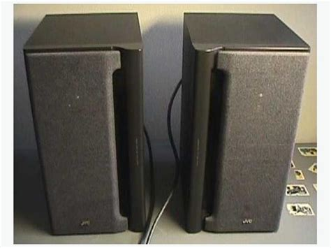 jvc sp mx70bk bookshelf speakers central ottawa inside
