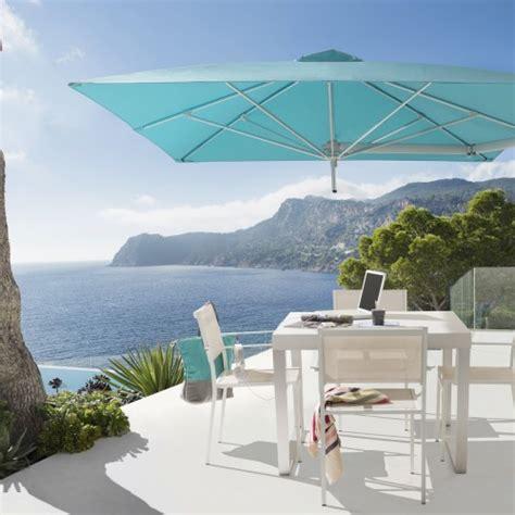 ombrellone per giardino ombrellone paraflex a muro di umbrosa con copertura