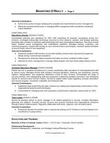 Sample Military Resume Careerperfect 174 Management Resume After