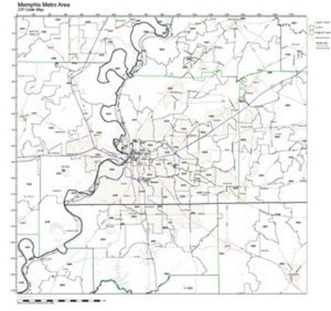 zip code map memphis tennessee zip code map tn maps images frompo