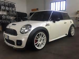 Mini Cooper Ad Caign Mini Cooper Cooper Works White Matte Tuning Wheels