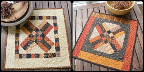 Free Fall Quilt Patterns by Free Fall Table Runner Pattern 171 Cornbread Beans