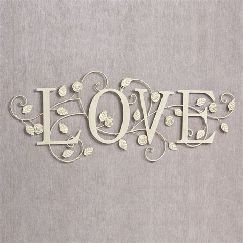 word wall decor blooms of metal word wall