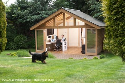 Streatham Sheds by For The Shed On Garden Office Sheds And Wendy House