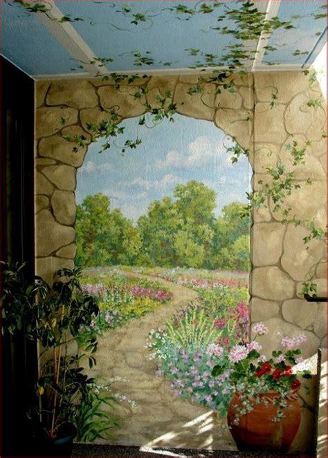 garden wall mural 17 best ideas about garden mural on diy yard ideas projects outdoor garden