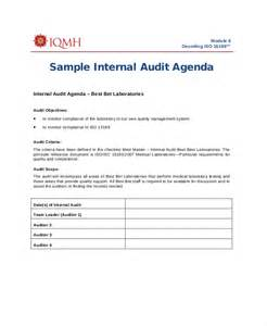 audit agenda template 12 agenda templates free sle exle format free