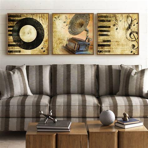 Baru Lukisan Hiasan Dinding 4 Panel Rata Abstrak Nuansa Ungu buy grosir musik gambar from china musik gambar