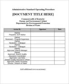 Sop Exle Template by Sle Sop Template 20 Free Documents In Word Pdf Excel