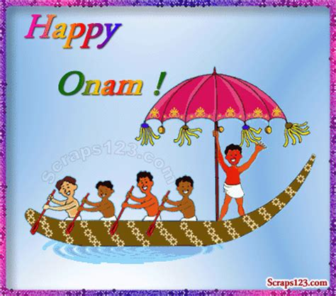 cartoon boat race pictures happy onam boat race animated picture