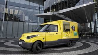 Canada Post Electric Vehicles Streetscooter Deutsche Post Baut E Zustellauto In Serie