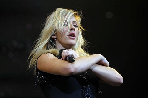 ellie goulding s softer side prevails at otherwise