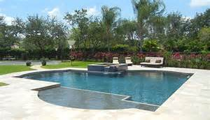 Beautiful Backyard Landscaping West Palm Beach Pool Builder