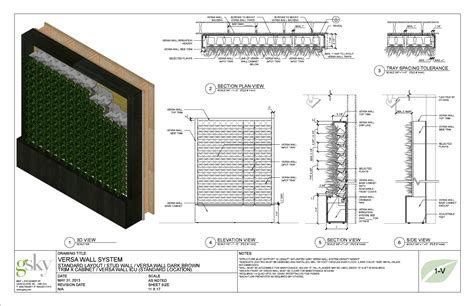 green wall detail section green wall system google 검색 vertical garden and farm