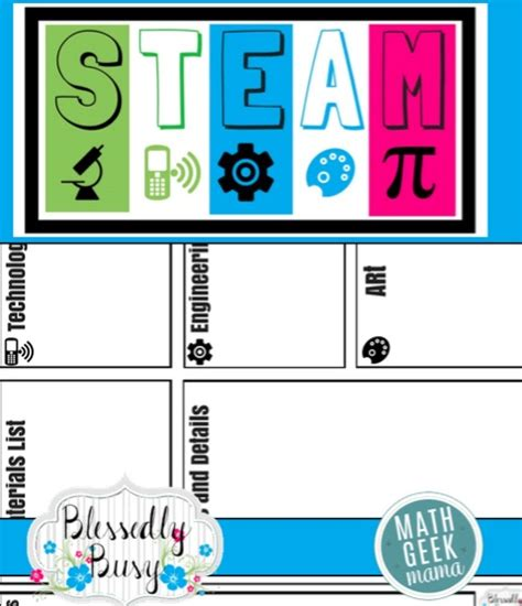 Plan Engaging Stem Lessons Stem Lesson Plan Template Free Stem Planning Template