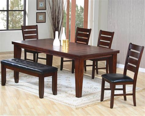 Dining Room Set Bench by 26 Big Amp Small Dining Room Sets With Bench Seating