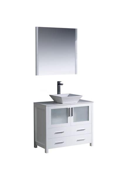 36 inch vessel sink vanity 36 inch vessel sink bathroom vanity in white uvfvn6236whvsl36