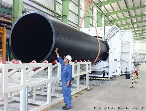 Big Pipe Plumbing visible competence for large diameter pipe extrusion lines