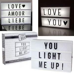 light up letter board a4 light up letter box cinema led sign message board