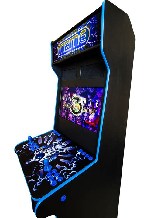 console arcade cabinet two player standing arcade console standard graphics