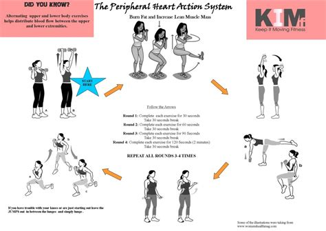 peripheral system a printable home workout