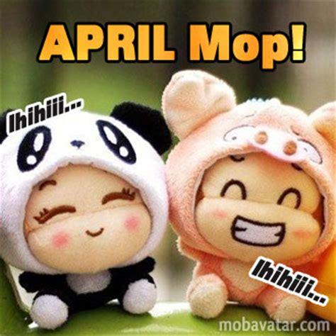 Kaos April Fools Day April Mop tau gak april mop