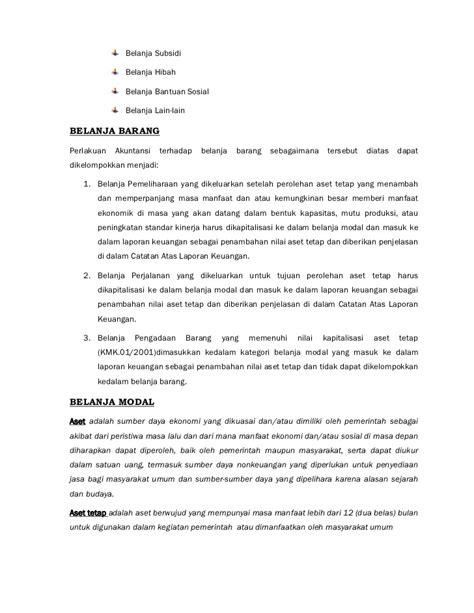 contoh jurnal akuntansi belanja barang