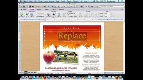 create  newsletter  microsoft word templates youtube