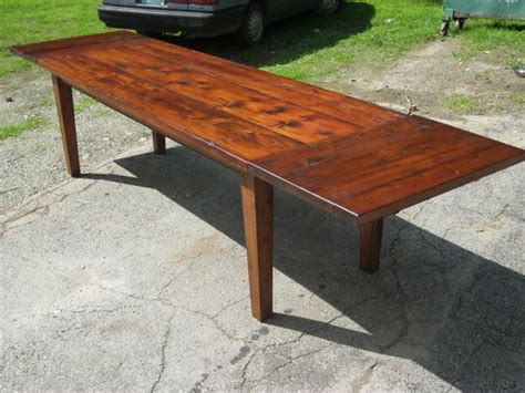 vermont farm table furniture handmade vermont reclaimed lumber farm table by spaulding