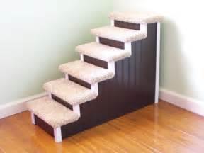 stairs 28 high designer pet stairs custom made