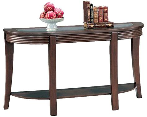Simpson Sofa Table With Glass Top Co5526 Sofa Table Glass Top