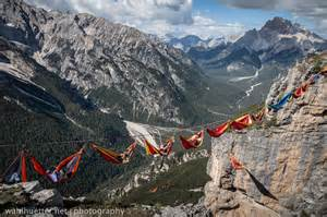 Mountain Hammock highline hammock session in the dolomites 171 twistedsifter