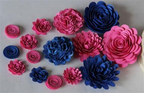 come realizzare i fiori di carta come fare fiori di carta