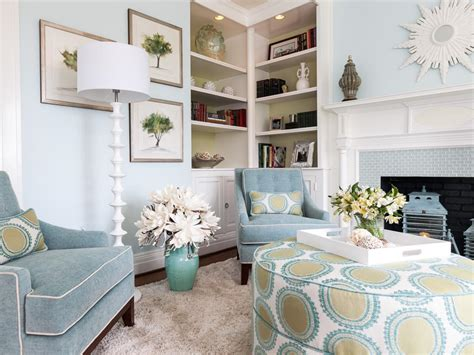 Blue Living Room Chairs | photo page hgtv