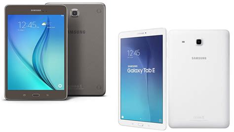 Tab E Samsung Galaxy Tab A And Tab E Review Features More