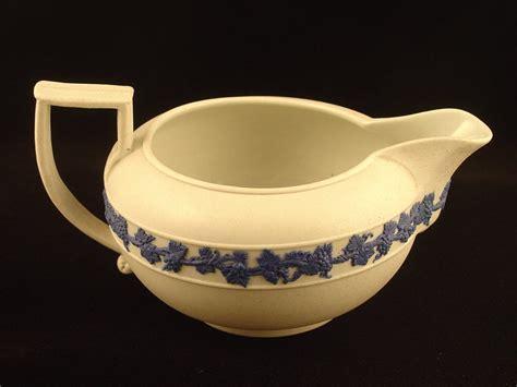 Dziner Ori Blue List White Blue wedgwood blue white creamer for sale antiques