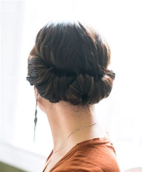 easy hairstyles for black friday morning shopping