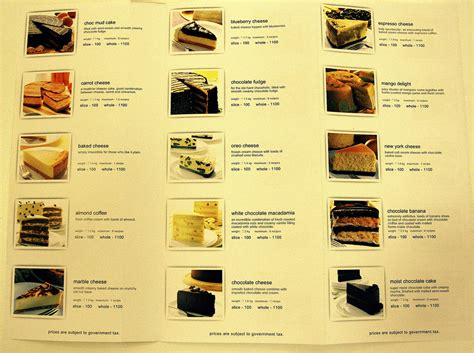 Harga Secret Di Singapura cake recipe secret recipe cake menu malaysia