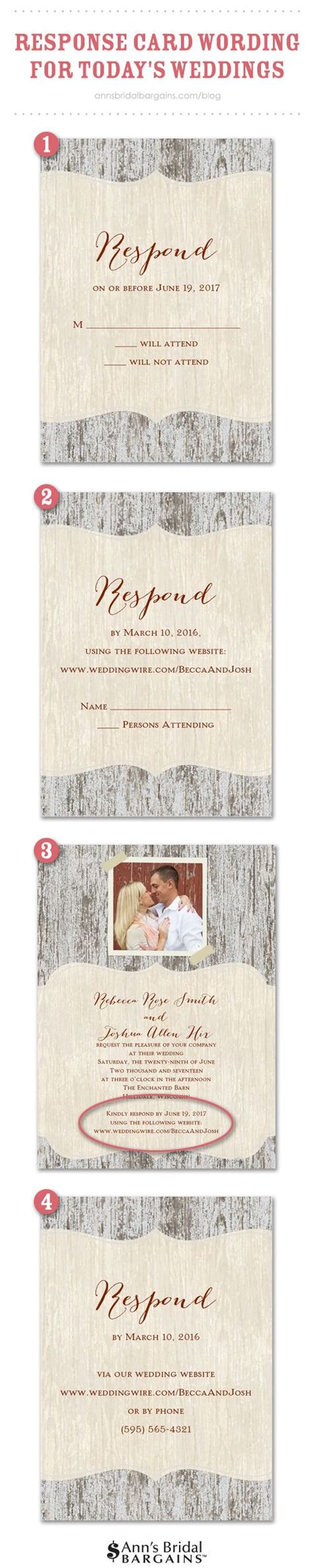 Wedding Advice Websites by Response Card Wording Exles For Rsvps Wedding