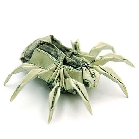 One Dollar Bill Origami - folded money sculptures origami currency creations