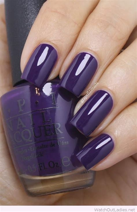 opi purple colors purple opi nail out