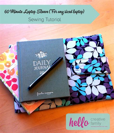 tutorial merajut case hp 1 hour diy laptop sleeve sewing tutorial for any size