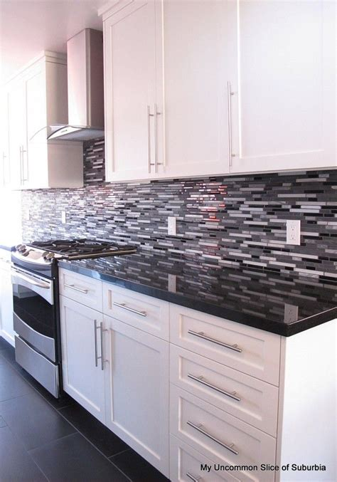 Modern Kitchen Remodel Kitchens Modern And Black Black White Kitchen Cabinets