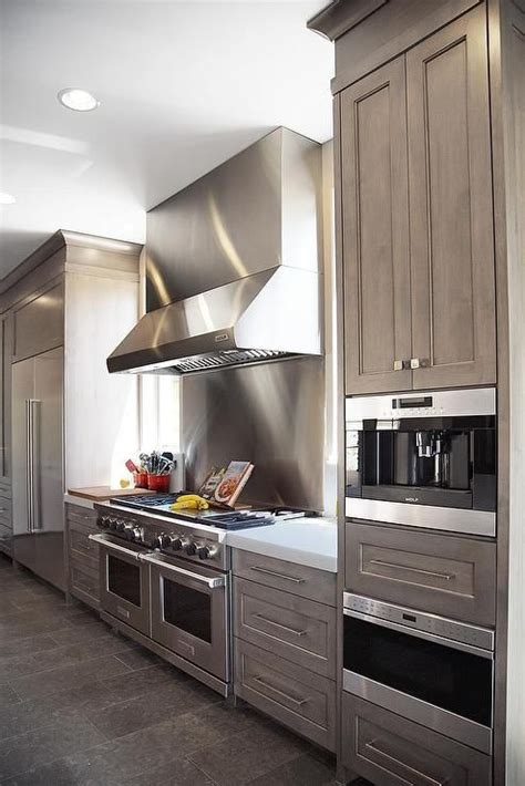gray wash kitchen cabinets the 25 best stainless steel refrigerator ideas on