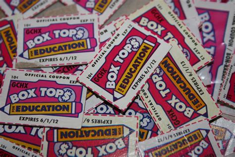 Education Box williams weekly 10 16 13 last chance for box tops