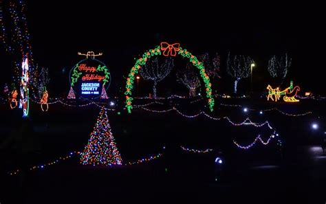 llong view lake park christmas light display ks longview lake in the park sanjonmotel
