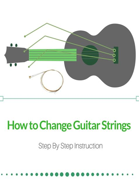 How To Make String Step By Step - how to change guitar strings step by step